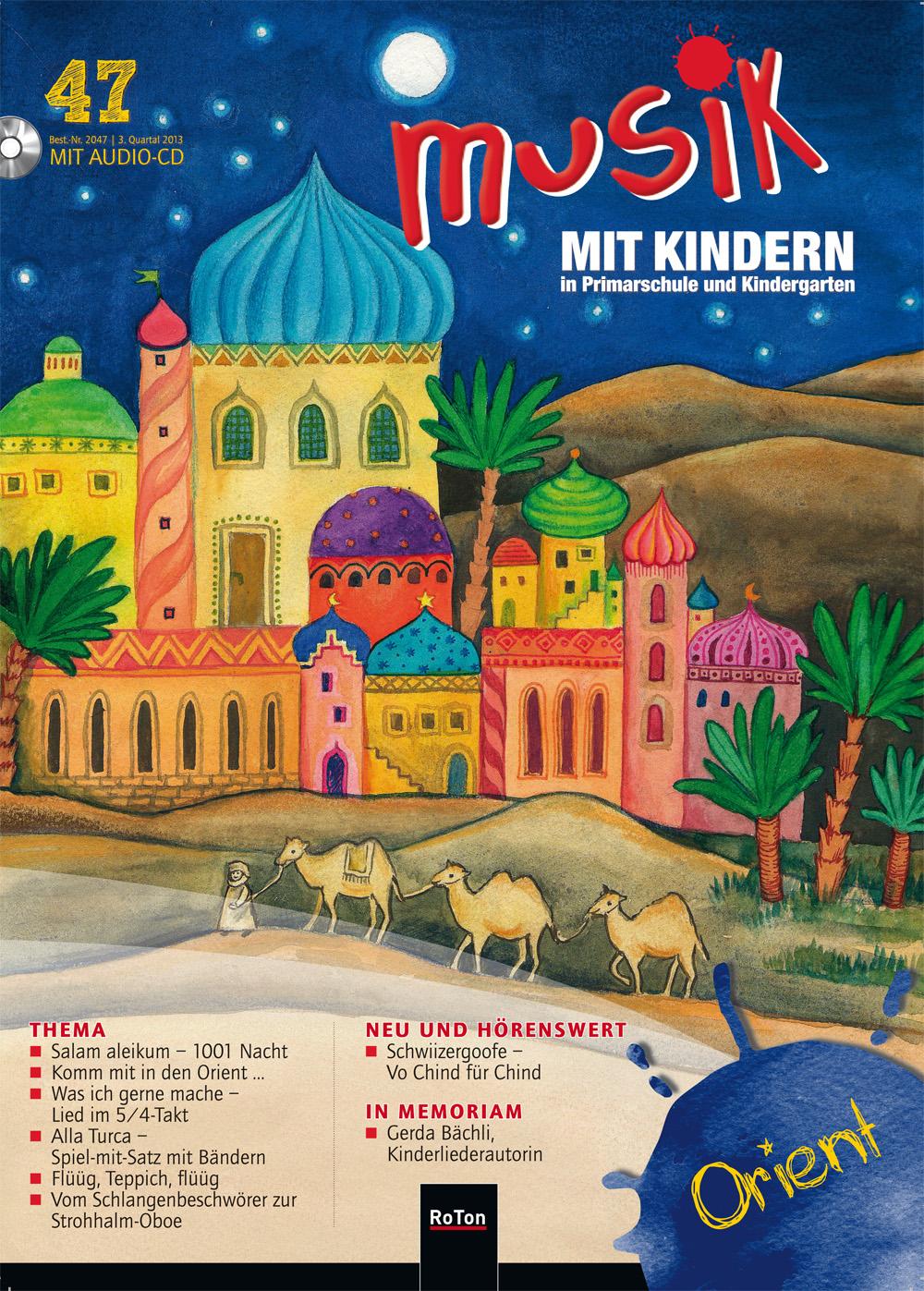 Ausgabe Nr. 47 – Orient – Musik mit Kindern