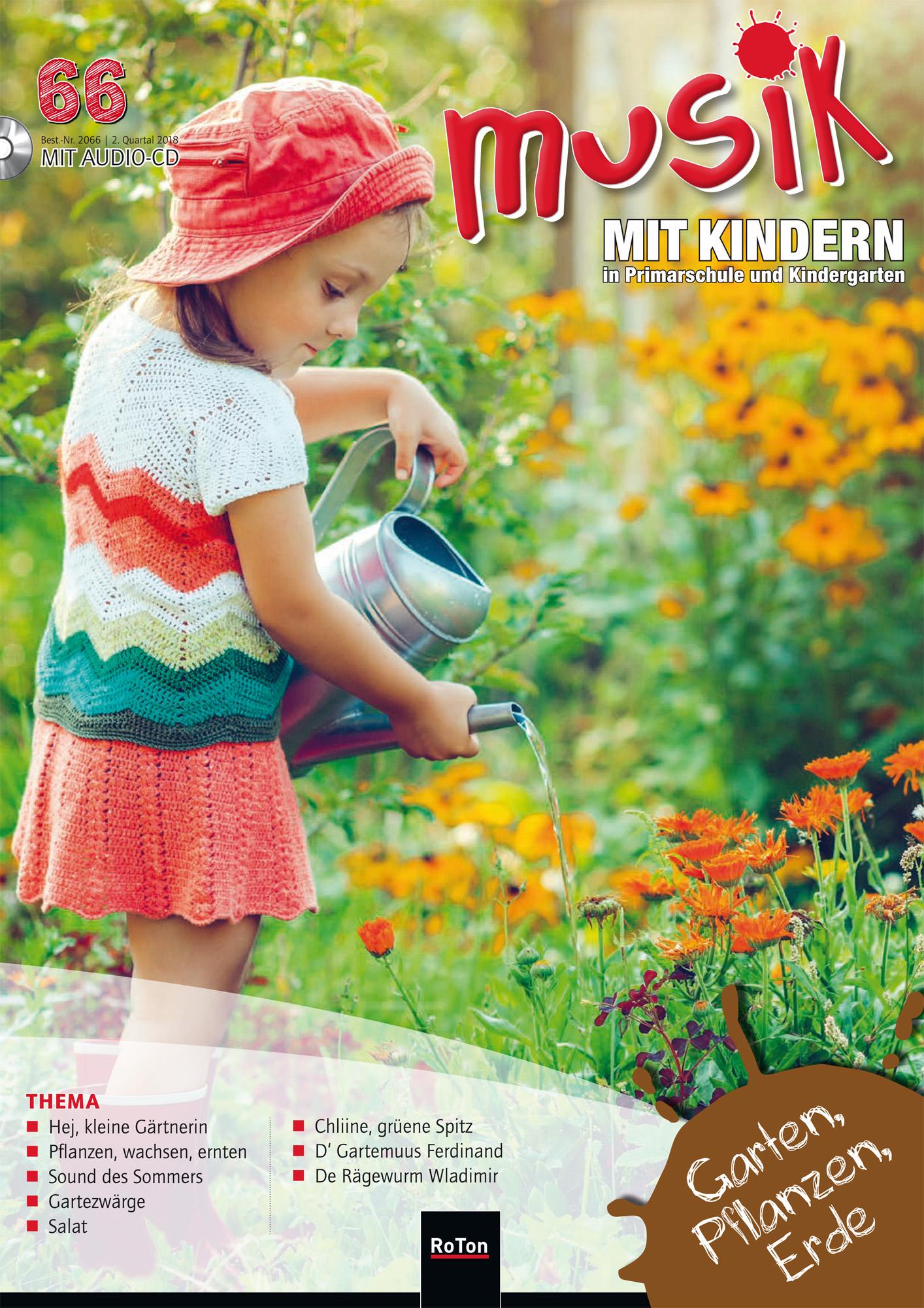 Ausgabe Nr. 66 – Garten, Pflanzen, Erde – Musik mit Kindern