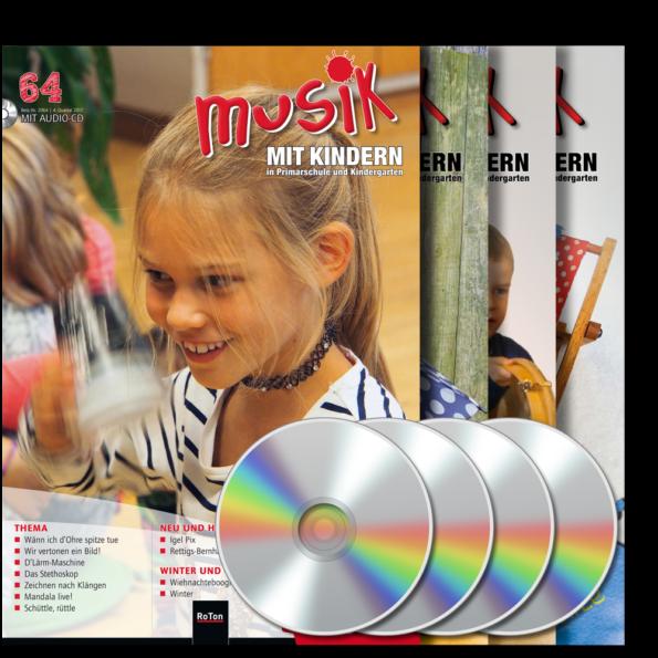 Jahresabonnement mit CD (4 Hefte pro Jahr)