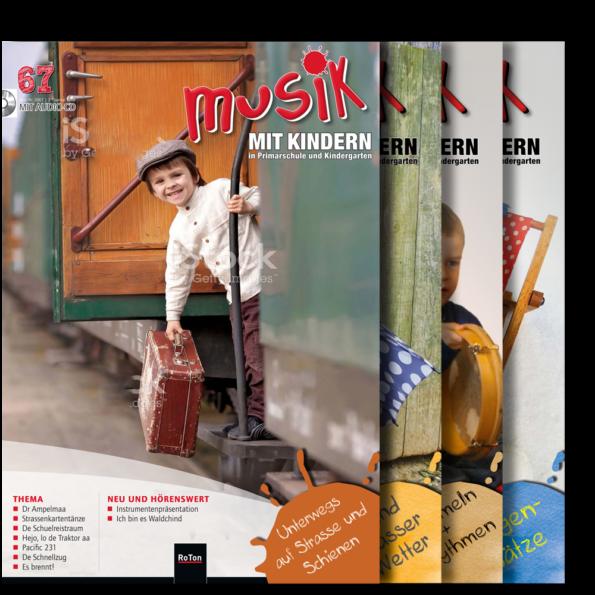 Jahresabonnement ohne CD (4 Hefte pro Jahr)