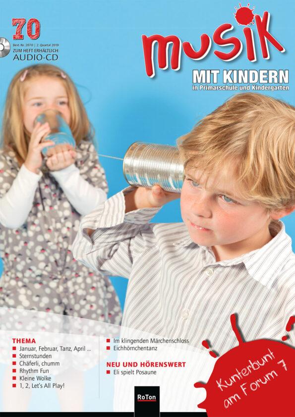 Ausgabe Nr. 70 – Kunterbund am Forum 7