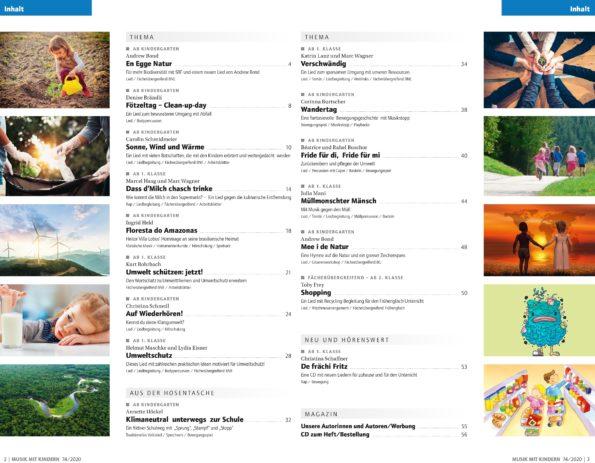 Umwelt! Inhaltsverzeichnis